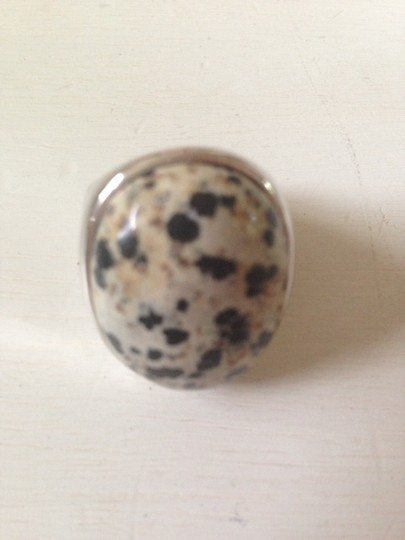 Preload https://item4.tradesy.com/images/silver-and-leopard-stone-ring-906543-0-0.jpg?width=440&height=440