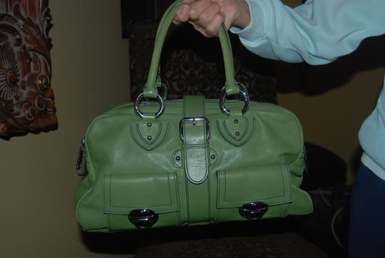 Marc Jacobs Venetia Doctor Mint Condition Calfskin Leather Satchel in Green