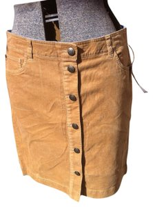 Tommy Hilfiger Mini Skirt tan corduroy