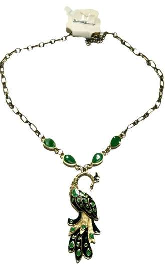 Preload https://img-static.tradesy.com/item/9065935/green-brass-peacock-chainlink-pendant-j1538-necklace-0-1-540-540.jpg