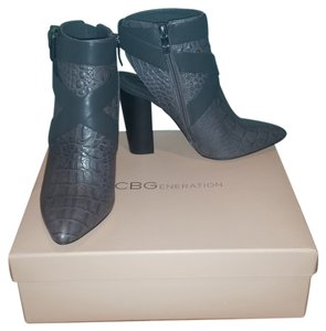 BCBGeneration Heels Bootie Gray Grey Boots