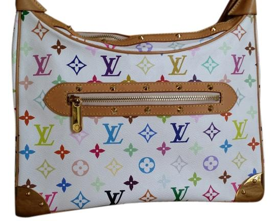 Preload https://item5.tradesy.com/images/louis-vuitton-boulogne-murakami-white-multicolor-canvas-lather-shoulder-bag-9066739-0-3.jpg?width=440&height=440