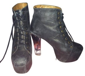 Jeffrey Campbell Beauty Heel Jc Lita Litas Fashion Distressed Hot Boots