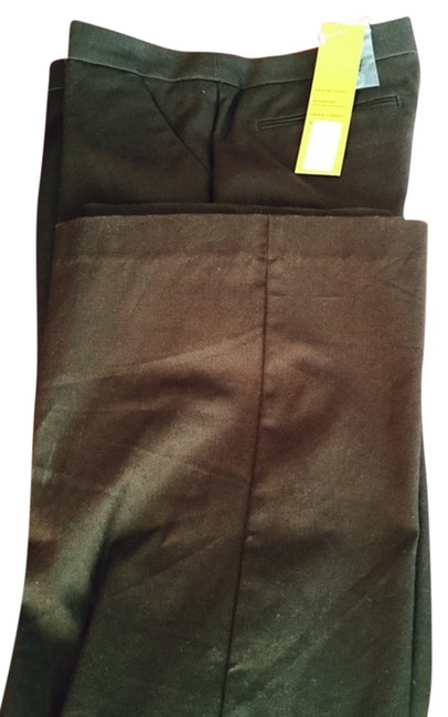 Item - Brown Solid Canvas Fiona Pants Size 6 (S, 28)