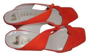 Delman Orange Sandals