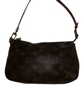 Louis Vuitton Wristlet Pouchette LV Clutch