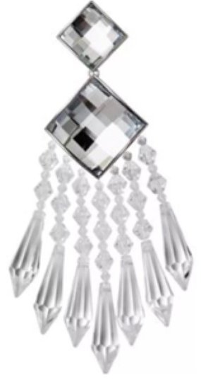Preload https://item5.tradesy.com/images/balmain-x-h-and-m-clear-earrings-9068254-0-2.jpg?width=440&height=440
