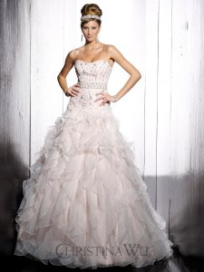 Christina Wu 15500 Wedding Dress