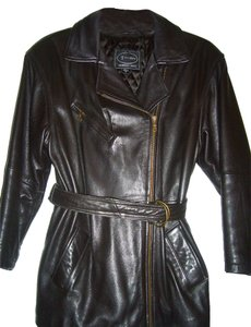 Tannery West Leather BROWN Leather Jacket