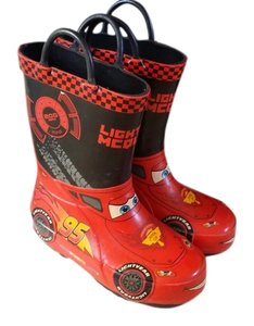 Racer Red Boots