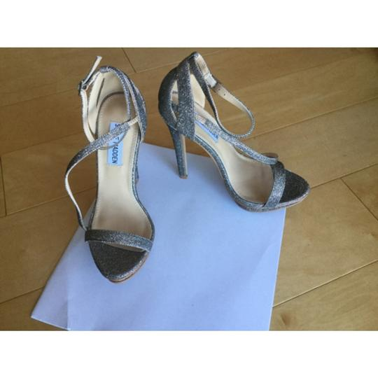 Steve Madden Silver metallic Formal