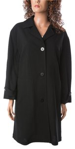 Donna Karan Jacket Work Made In Italy Signature Pea Coat
