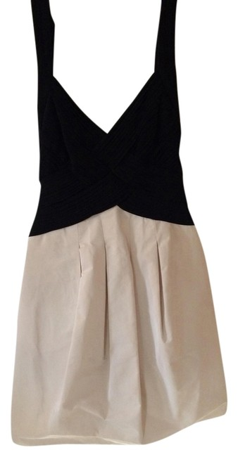 Preload https://item3.tradesy.com/images/bcbgmaxazria-cream-and-black-above-knee-cocktail-dress-size-6-s-9069577-0-2.jpg?width=400&height=650