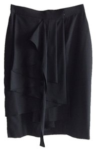 Chic Avant Garde Skirt Black
