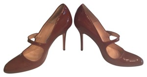 Manolo Blahnik Rust Pumps