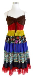 Victoria's Secret short dress Bohemian Boho Patchwork on Tradesy