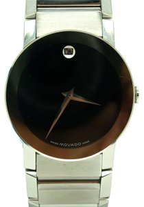 Movado Movado Stainless Steel Men's Sapphire Watch7in