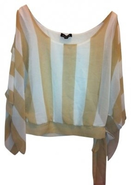 Preload https://item1.tradesy.com/images/bebe-white-and-tan-stripe-the-cold-shoulder-fly-me-away-night-out-top-size-0-xs-9070-0-0.jpg?width=400&height=650
