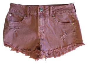 American Eagle Outfitters Cut Off Shorts Rosewood