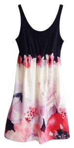 Anthropologie short dress Watercolor Floral on Tradesy