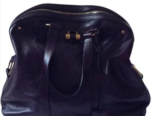 Saint Laurent Tote in Purple Plum