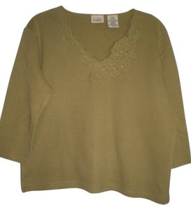 Classic Elements Top olive