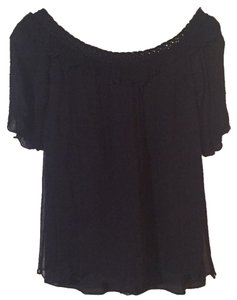 Valentino Viscose Top Black