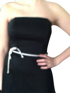 White House | Black Market Strapless Swing Skirt Trimming Size 6 Dress