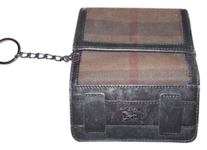 Burberry Authentic Burberry hard to find dk brown plaid print