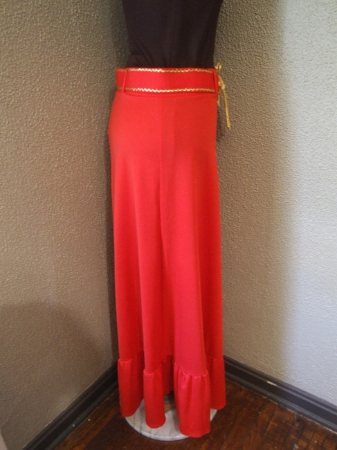 Other Vintage Maxi Skirt Red