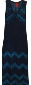 Navy blue Maxi Dress by Missoni for Target