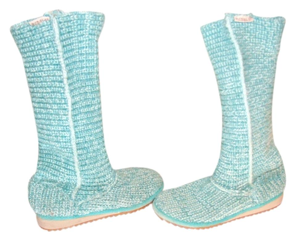 lady Seafoam Knit Boots/Booties Boots/Booties Knit new entry c170a1