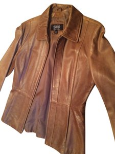 Wilsons Leather Blazer Caramel Jacket