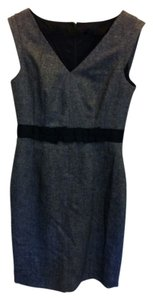 Banana Republic Slee Sleeveless V-neck Wool Dress