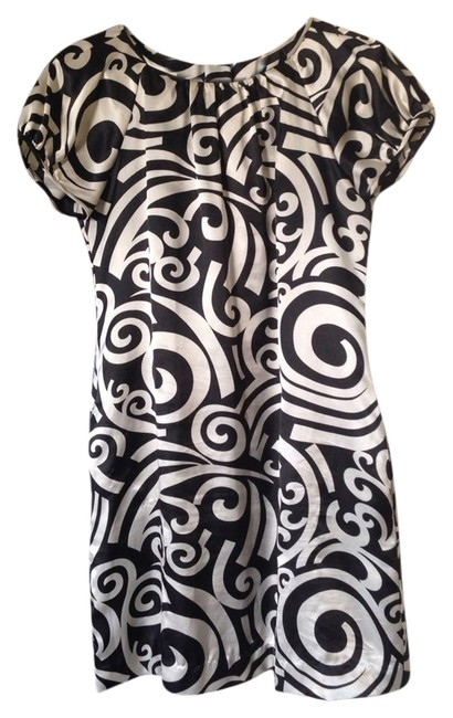 London Times short dress Black & White N Cute Mini on Tradesy