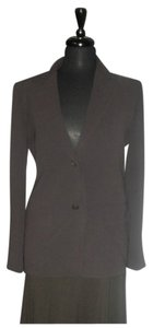 Max Mara Made In Italy Perfect Size6 brown Blazer