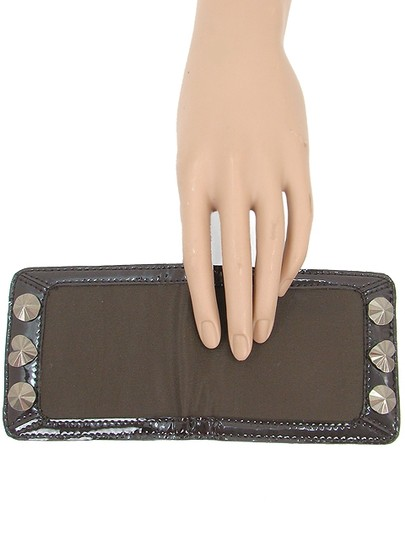 Love Moschino Love Moschino Accessories - Brown Patent Trimmed Mirror