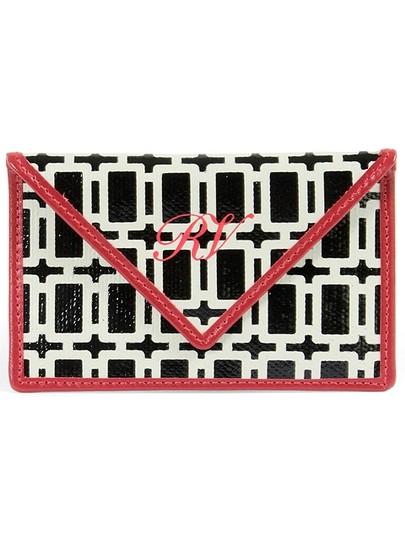 Roger Vivier Roger Vivier Accessories - Miss X Lacquered Canvas Card Holder