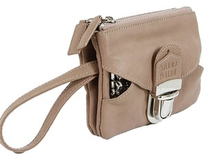 Studio Pollini Studio Pollini Accessories - Taupe Leather Wristlet