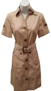 Michael Kors short dress khaki taupe Mk Mk Mk Safari Cargo Safari Runway Mk Runway Runway Runway on Tradesy