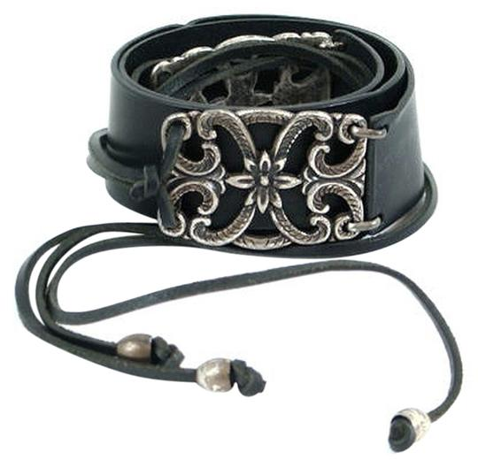Preload https://item3.tradesy.com/images/alberta-ferretti-black-silver-leather-with-detail-belt-908662-0-0.jpg?width=440&height=440