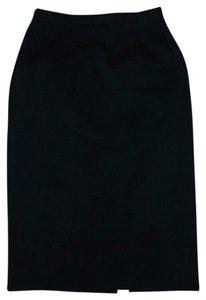 SAKS FIFTH AVE ANNE KLEIN Maxi Skirt BLACK