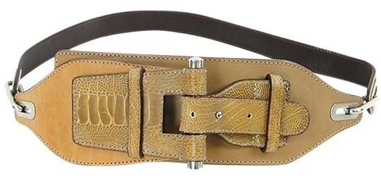 Preload https://item5.tradesy.com/images/calvin-klein-caramel-collection-taupe-leather-w-croc-detail-belt-908719-0-0.jpg?width=440&height=440