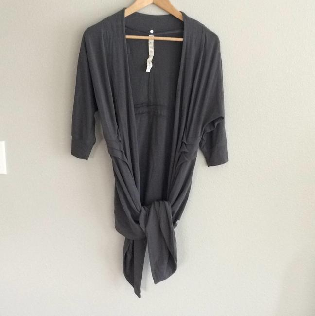 Item - Charcoal Gray Namaste Coverup Poncho/Cape Size 6 (S)