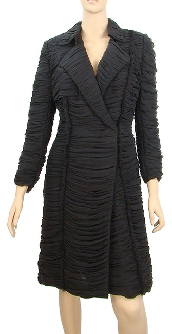 Preload https://item3.tradesy.com/images/jason-wu-black-silk-gathered-double-breasted-pea-coat-size-6-s-908867-0-0.jpg?width=400&height=650