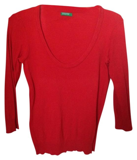 Preload https://item5.tradesy.com/images/united-colors-of-benetton-red-summer-sweaterpullover-size-4-s-908879-0-0.jpg?width=400&height=650