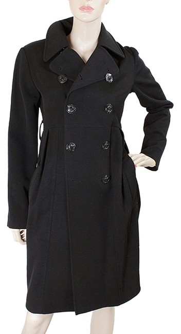 Preload https://item1.tradesy.com/images/jean-paul-gaultier-black-wool-double-breasted-pea-coat-size-6-s-908885-0-0.jpg?width=400&height=650