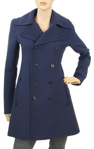 Jean-Paul Gaultier Wool Cut-out Pea Coat