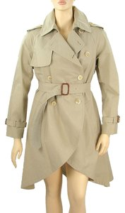 Moschino Trench Belted Cotton Trench Coat