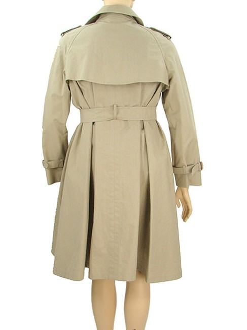 Moschino Belted Cotton Trench Coat